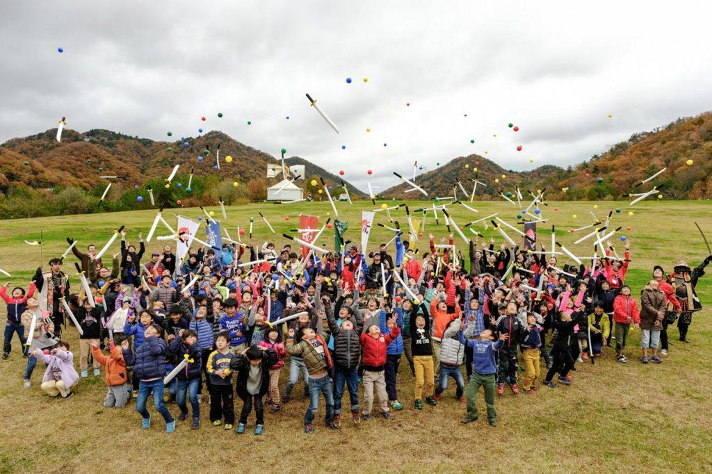 三田の大自然が戦場だ!チャンバラ合戦 〜戦 IKUSA〜 が有馬富士公園にやって来た