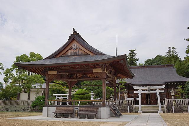 三田天満神社の境内