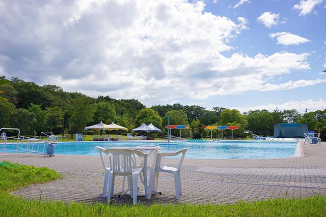 ふれあいと創造の里「ふれあいプール」は7月15日からプール開き!