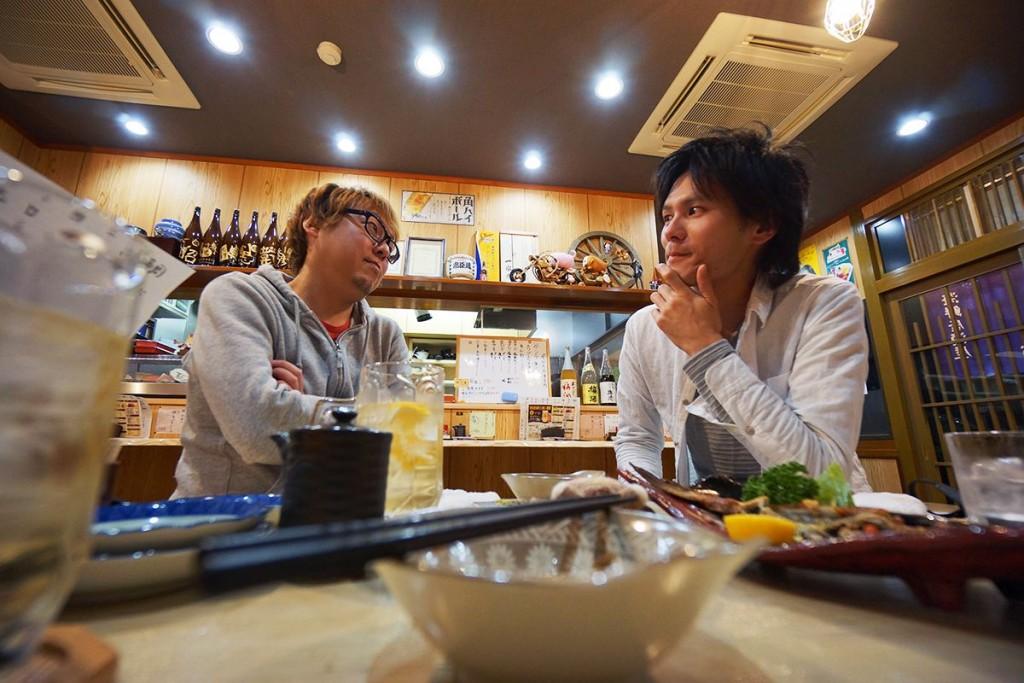 【一呑一会 第1回】三田で独立した個人オーナー美容師がアツい思いをぶつけ合う!