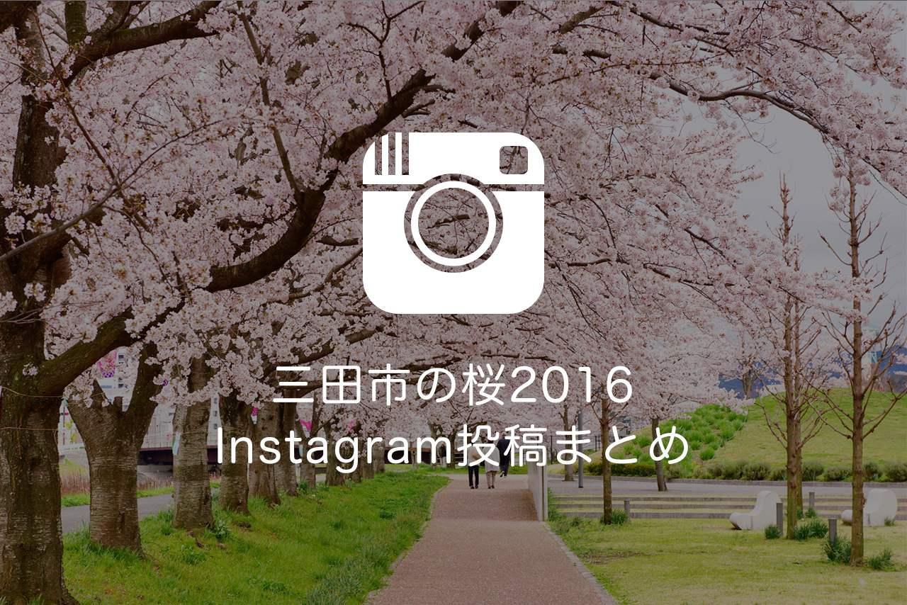 Instagram(インスタグラム)に投稿した三田市の桜をまとめてみた【2016】