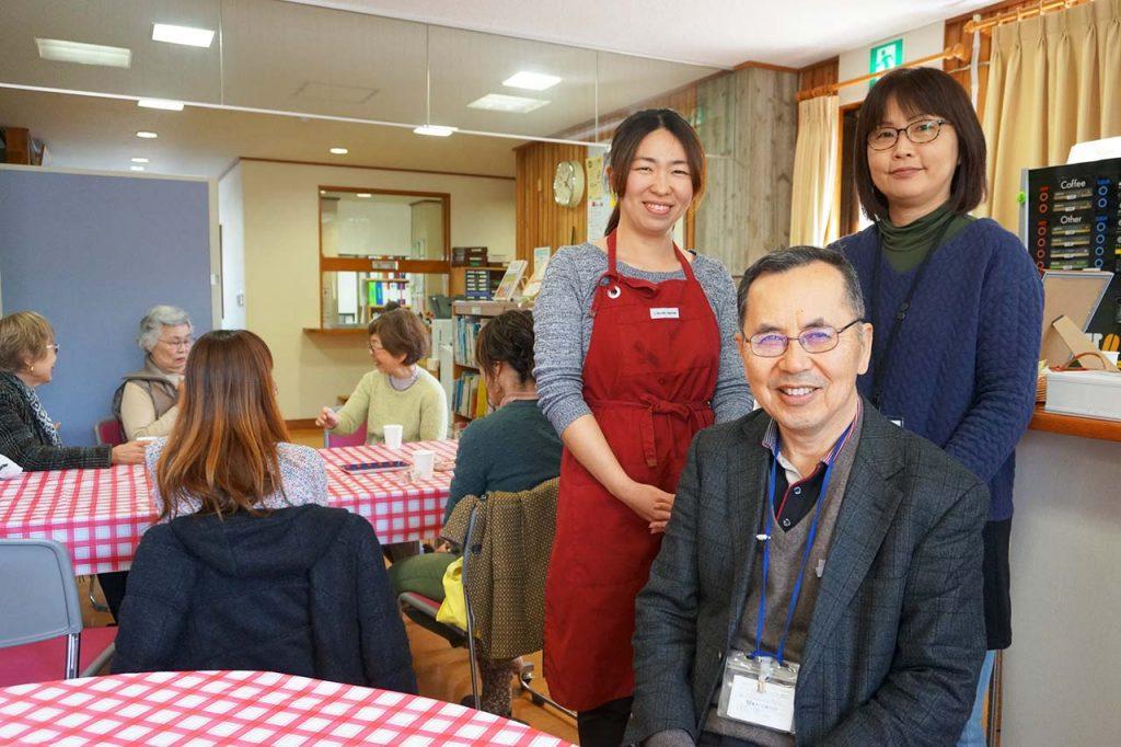 あかしあ台まち協カフェは若い世代も利用できる元気なコミュニティ