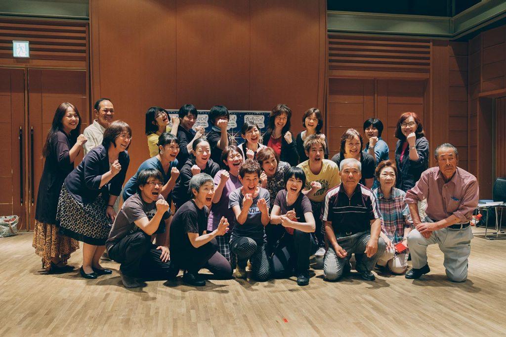 三田市民演劇OBOGによるオリジナル演劇「夜明けじゃ!」が上演