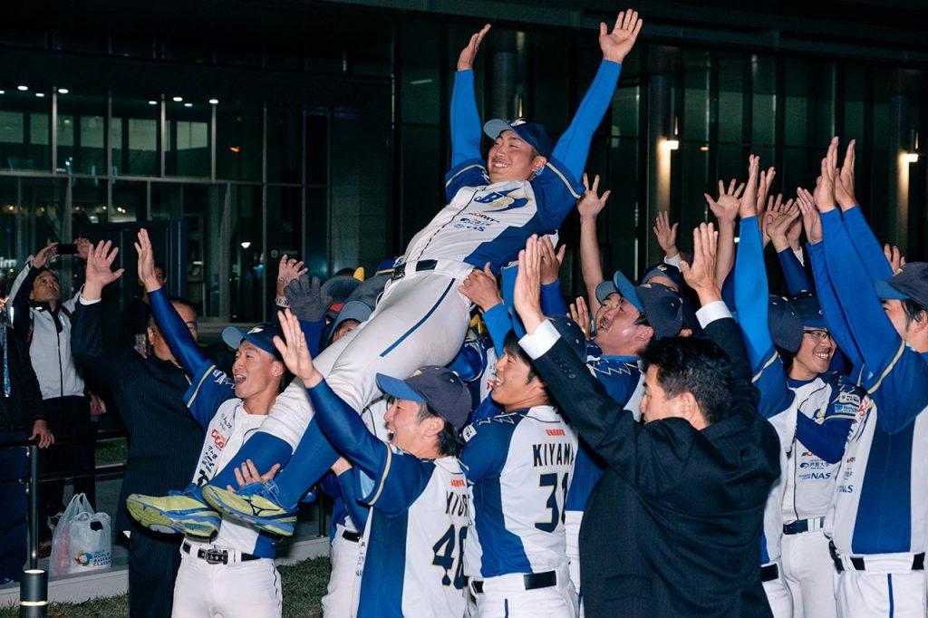 おめでとう田中耀飛(あきと)選手!兵庫ブルーサンダーズから今年もプロ野球選手が誕生したよ