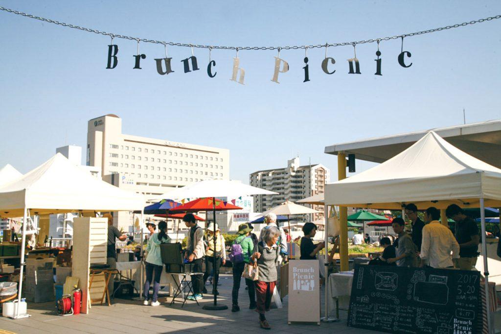 【サンダブランチピクニック】次回は10月20日!月イチ開催の駅前お洒落マーケットに出かけよう