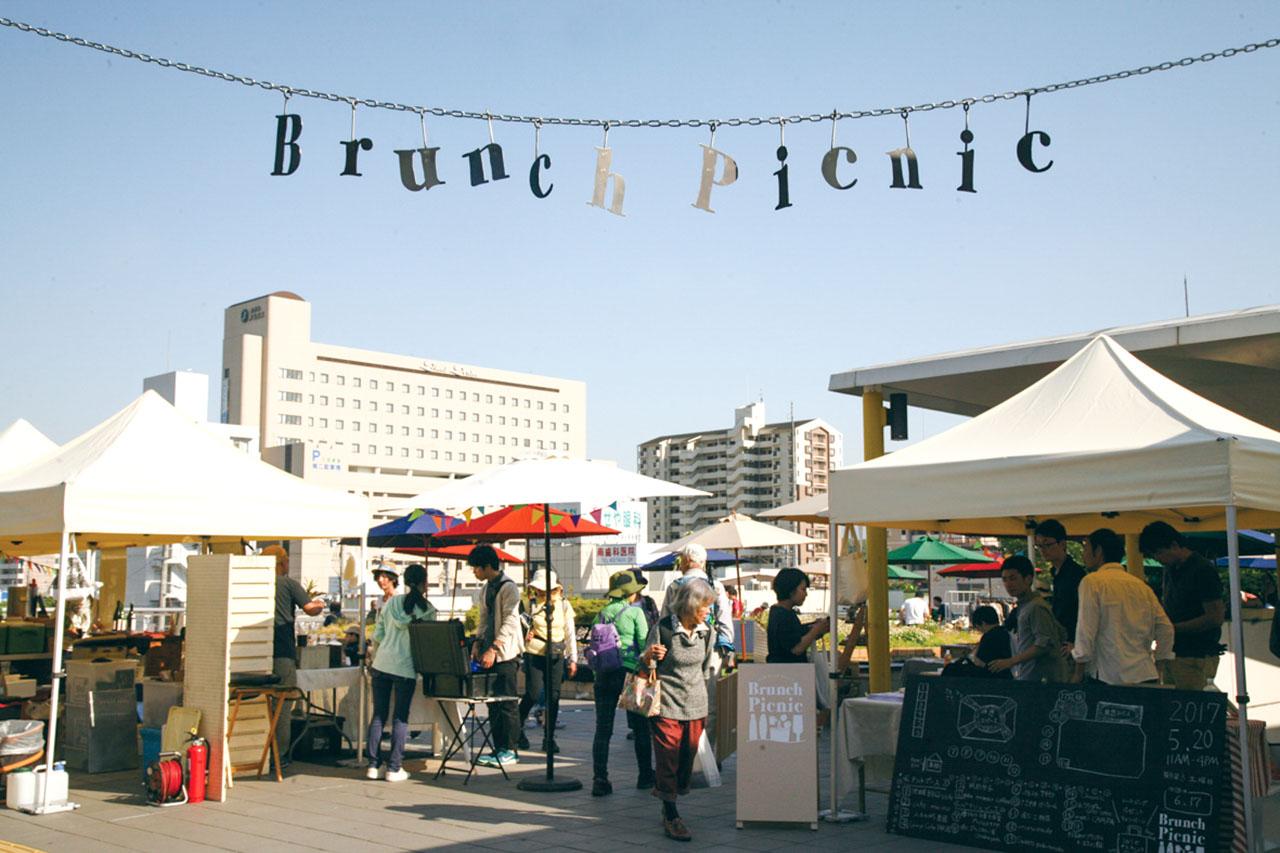 【サンダブランチピクニック】次回は11月16日!月イチ開催の駅前お洒落マーケットに出かけよう