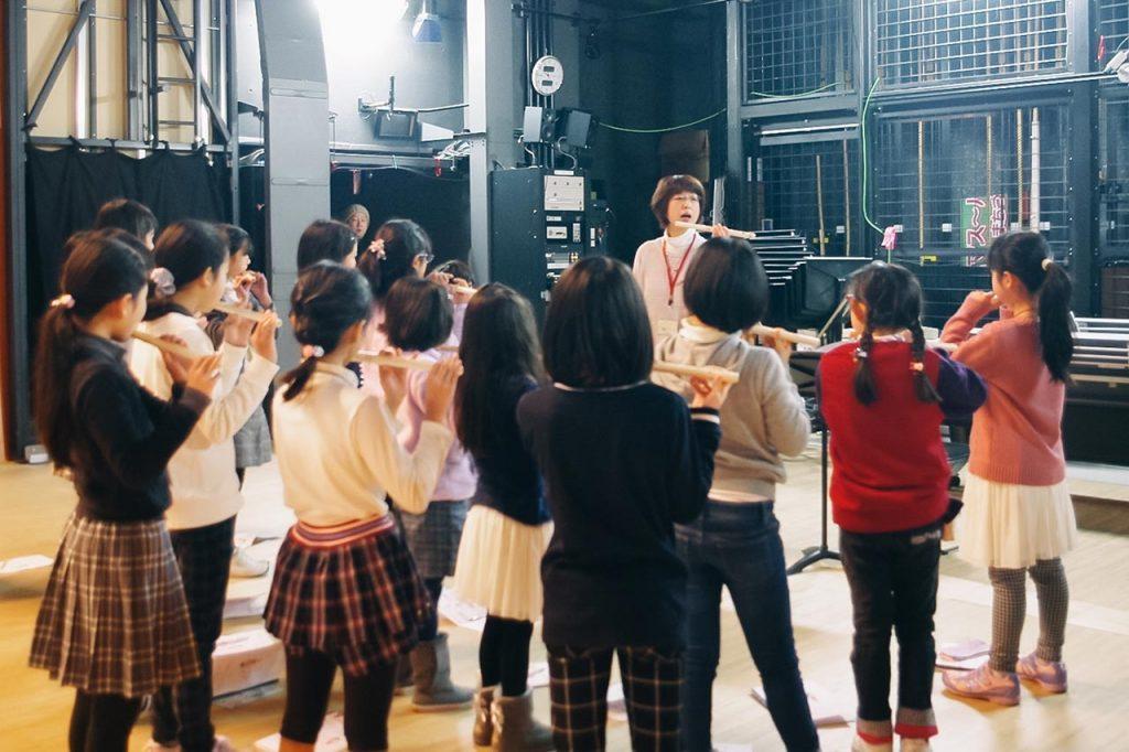 さとのね音楽ワークショップ わくわくフルート初たいけん!が1/14〜開催(全5回)